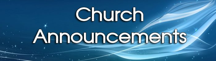 Church Announcements Church-announcements1 blue