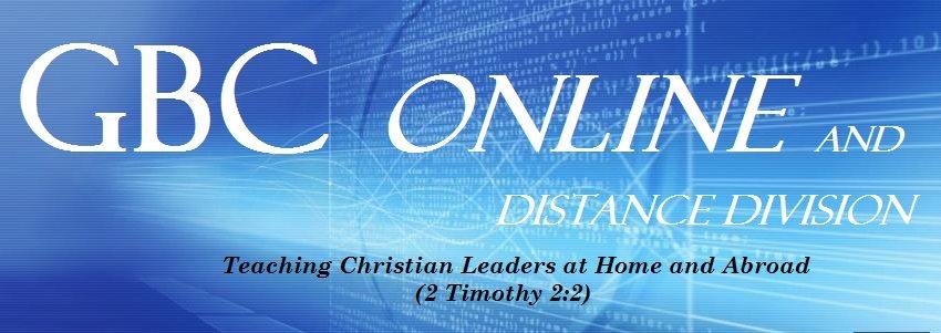 GBC Online Webpage Banner